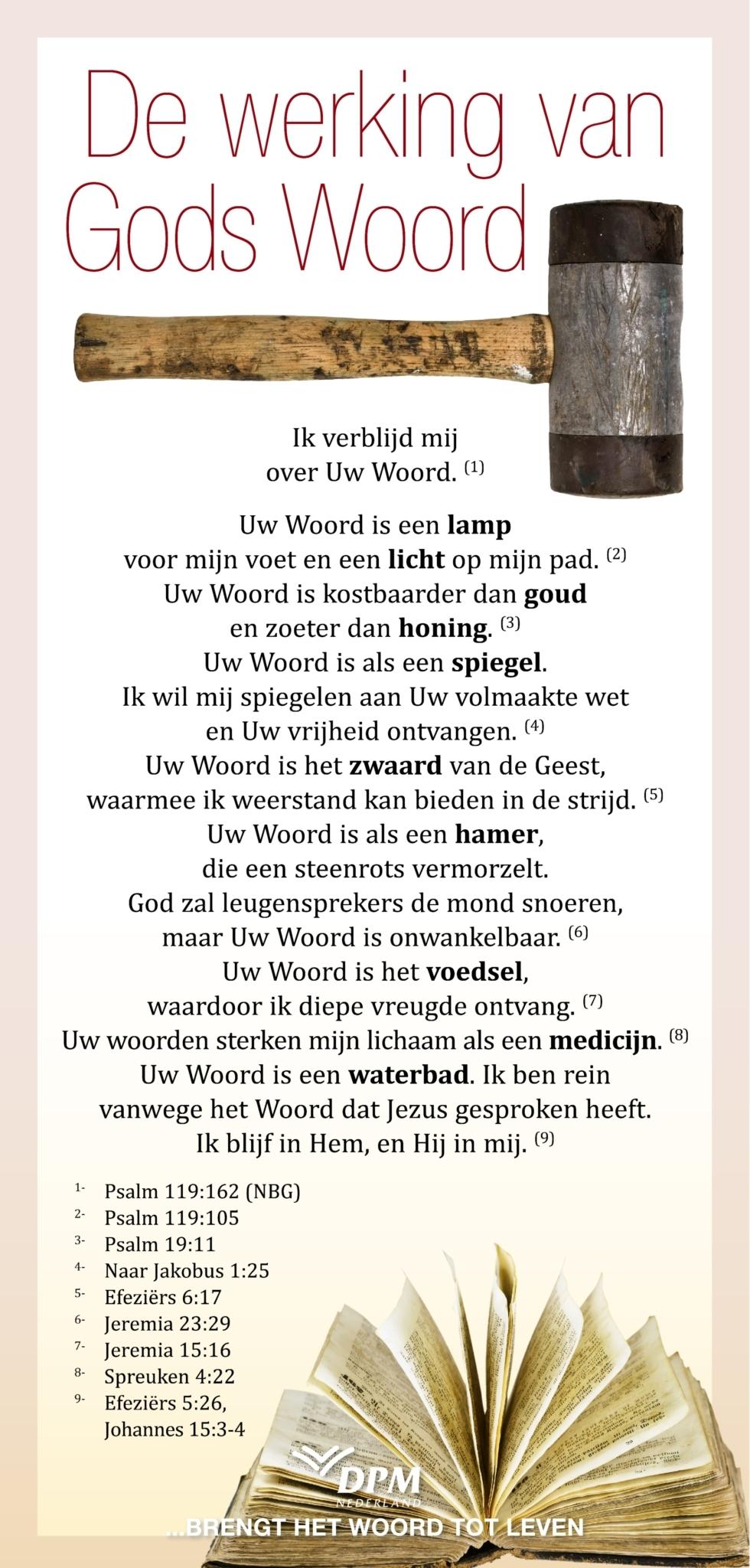 De werking van Gods Woord