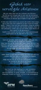 Gebed voor vervolgde christenen